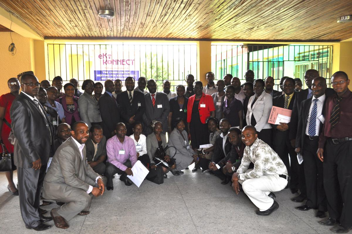 Eko-Konnect - Group Picture - March 2012