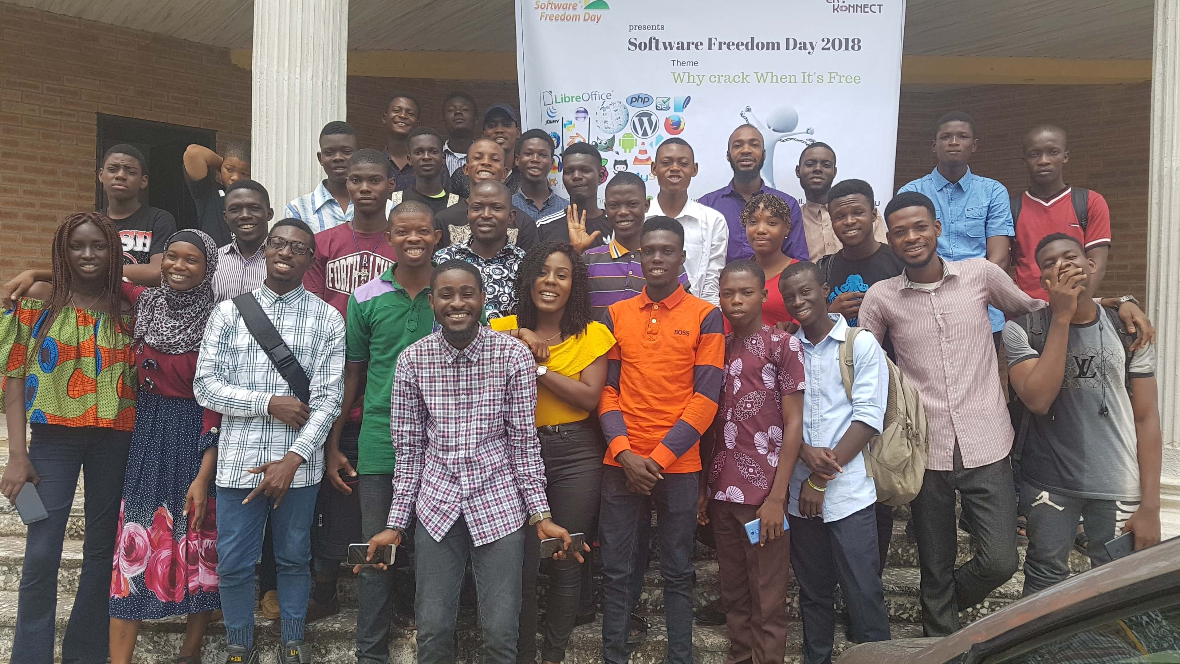 Eko-Konnect Celebrates 2018 International Software Freedom Day