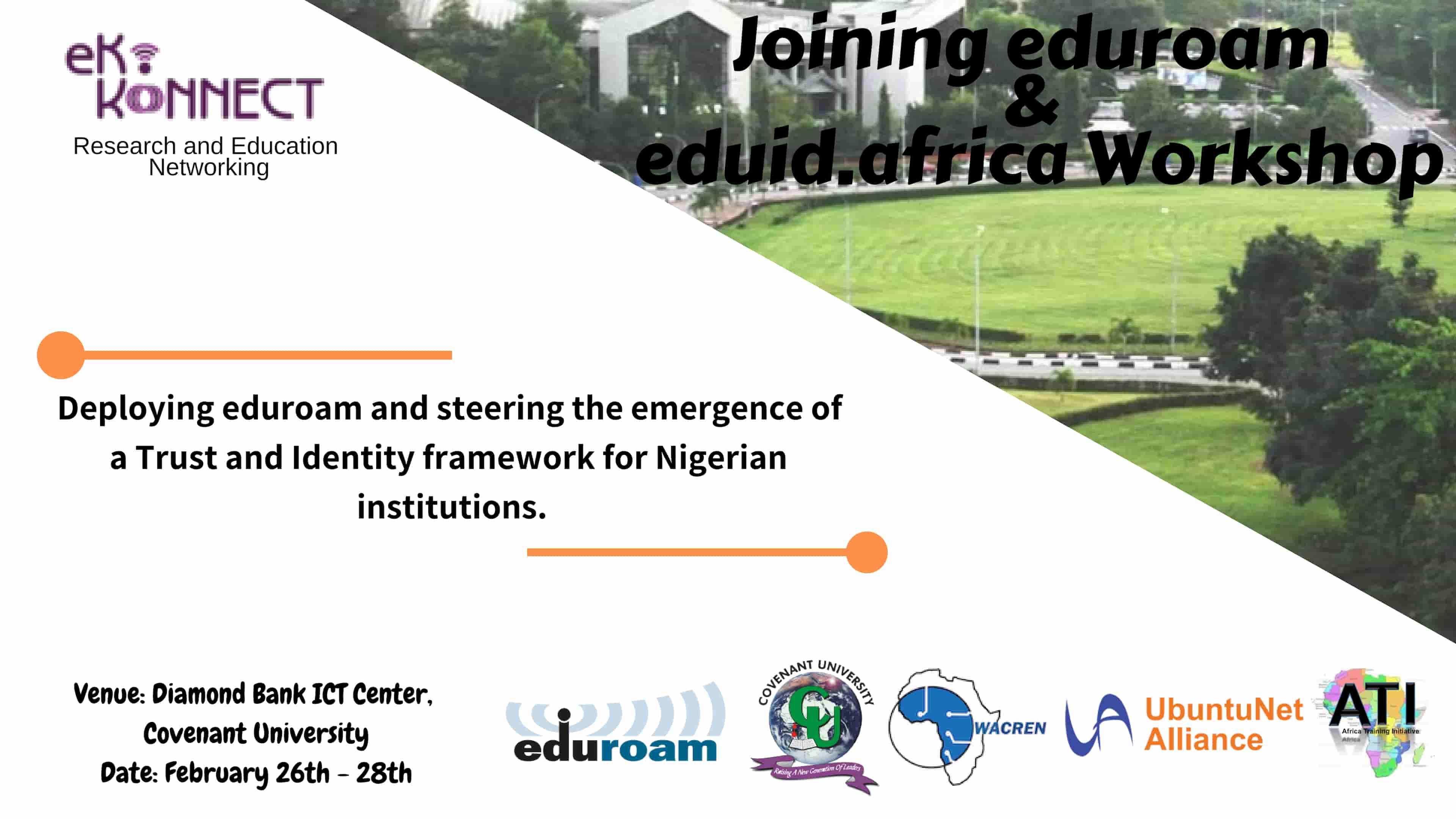 Eko-Konnect to Host ATI-6 Workshop on Joining eduroam and eduid.africa