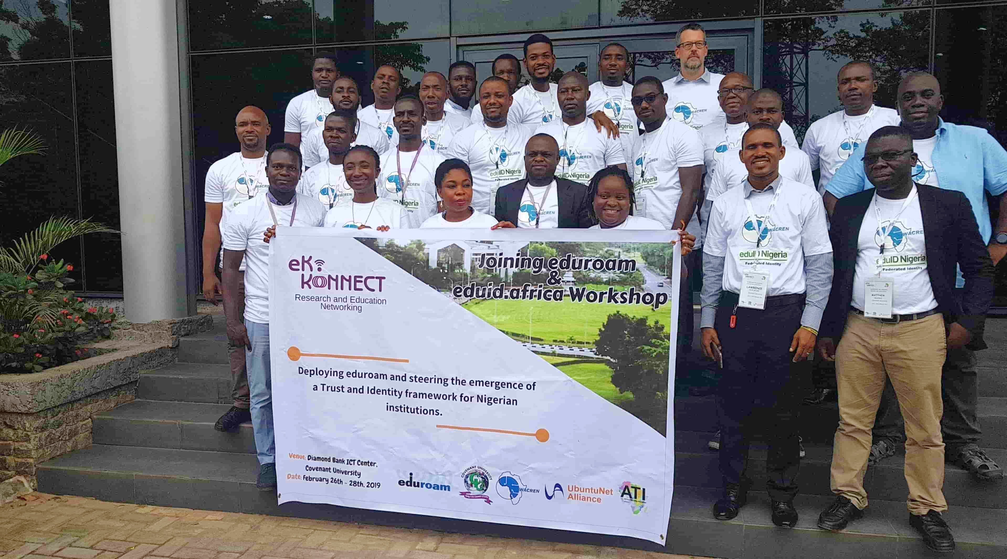 Joining eduid and eduroam workshop concludes – Institutions in Nigeria Commence eduroam deployment